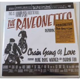 The Raveonettes - Chain Gang Of Love (2021, Red translucent, Vinyl)