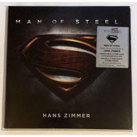 Hans Zimmer - Man Of Steel (Original Motion Picture Soundtrack) (2021, Translucent Blue, Vinyl)