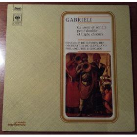 Giovanni Gabrieli - Cleveland Brass Ensemble , Philadelphia Brass Ensemble & The Chicago Brass Ensem
