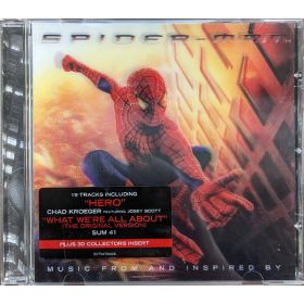 Various - Music From And Inspired By Spider-Man (2002, CD)