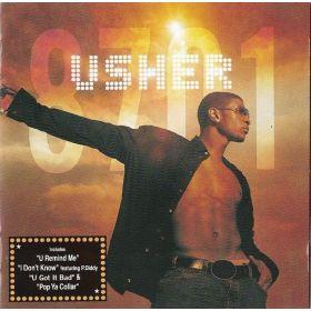Usher - 8701 (2001, CD)