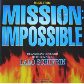 Lalo Schifrin - Music From Mission: Impossible (1996, CD)
