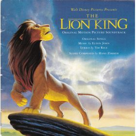 Elton John , Tim Rice , Hans Zimmer - The Lion King (Original Motion Picture Soundtrack) (1994, CD)