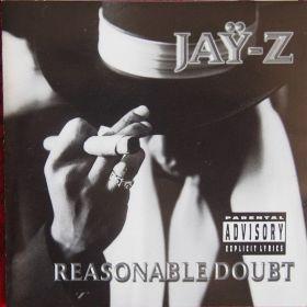 Jay-Z - Reasonable Doubt (1996, CD)
