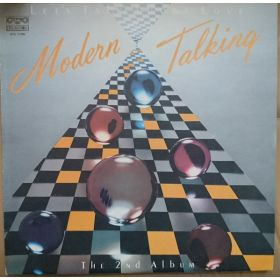 Modern Talking - Lets Talk About Love - The 2nd Album (1987, Yelow labels, Vinyl)
