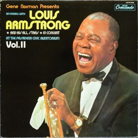 Louis Armstrong And His All-Stars - In Concert At The Pasadena Civic Auditorium Vol. II (1987, Vinyl)