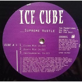 Ice Cube - Supreme Hustle / Waitin Ta Hate (2000, Vinyl)
