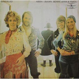 ABBA , Björn & Benny, Agnetha & Anni-Frid - Waterloo (1975, Blue Labels, Vinyl)