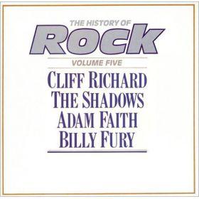 Cliff Richard / The Shadows / Adam Faith / Billy Fury - The History Of Rock (Volume Five) (1982, Vinyl)
