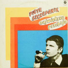 Piotr Szczepanik - Największe Przeboje (1987, Cream labels, Vinyl)