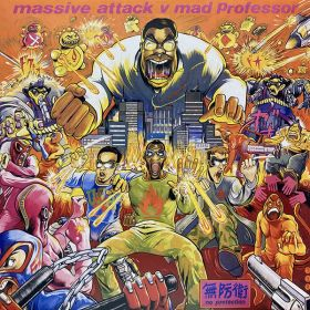 Massive Attack V Mad Professor - No Protection (2016, 180 gram, Vinyl)