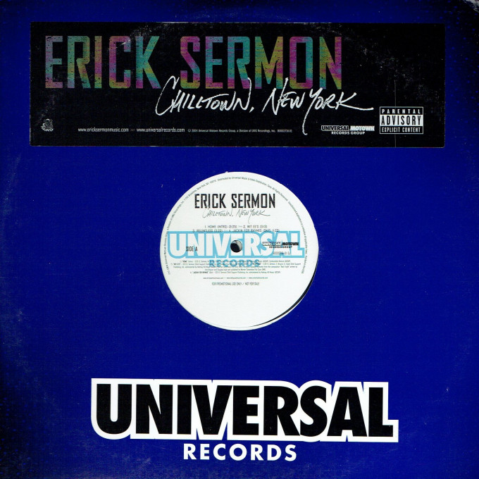 Erick Sermon ‎– Chilltown, New York