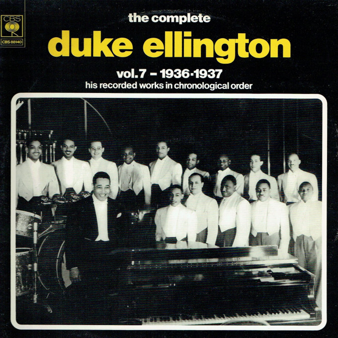 Duke Ellington ‎– The Complete Duke Ellington Vol.10 - 1937-1938