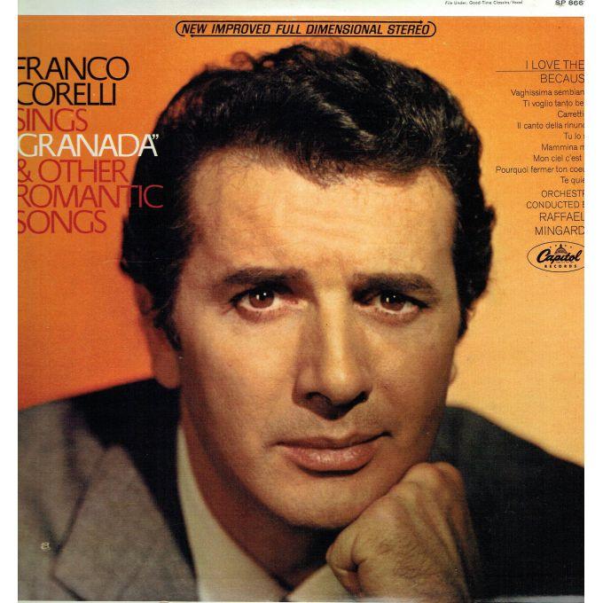 Franco Corelli, Raffaele Mingardo – Franco Corelli Sings Granada And Other Romantic Songs