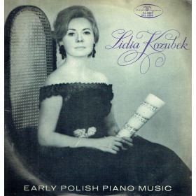 Lidia Kozubek ‎– Early Polish Piano Music