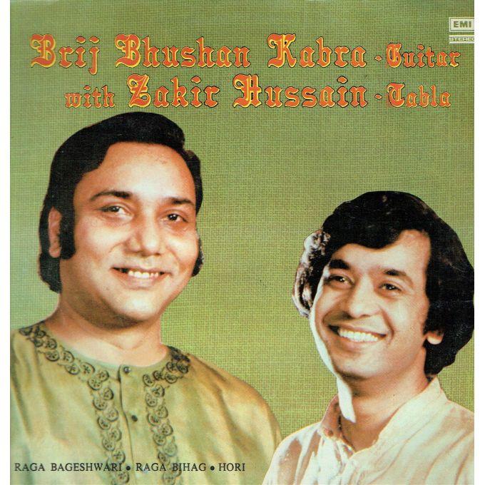 Brij Bhushan Kabra With Zakir Hussain – Raga Bageshwari / Raga Bihag / Hori