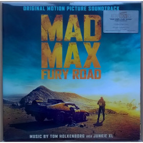 Tom Holkenborg AKA Junkie XL ‎– Mad Max: Fury Road (Original Motion Picture Soundtrack)