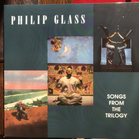 Philip Glass ‎– Songs From The Trilogy LP