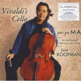 Yo-Yo Ma, The Amsterdam Baroque Orchestra, Ton Koopman – Vivaldi's Cello LP
