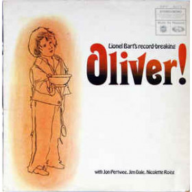 Lionel Bart With Jon Pertwee, Jim Dale, Nicolette Roeg With Geoff Love & His Orchestra ‎– Oliver