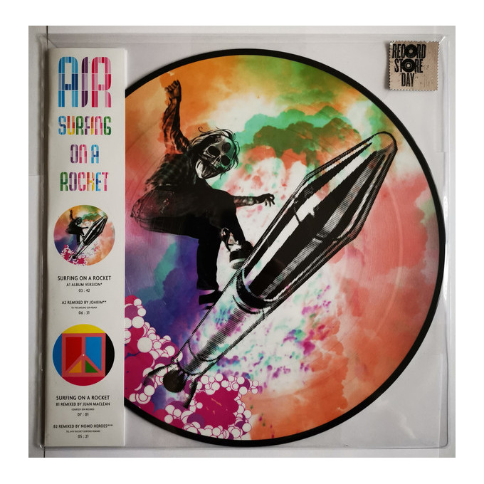 AIR – Surfing On A Rocket
