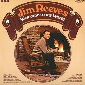 Jim Reeves ‎– Welcome To My World