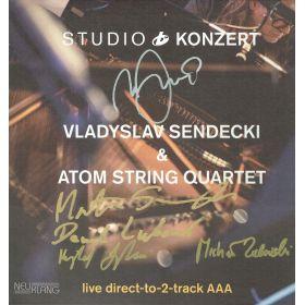 Vladyslav Sendecki & Atom String Quartet