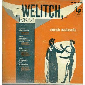Lijuba Welitch - Strauss, Tchaikovsky, Puccini - salome, eugen onegin, tosca