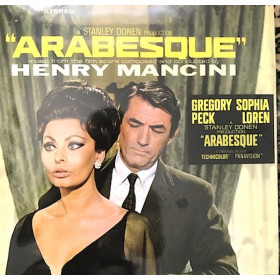 Henry Mancini ‎– Arabesque (Music From The Motion Picture Score)