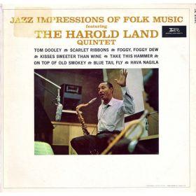The Harold Land Quintet – Jazz Impressions Of Folk Music