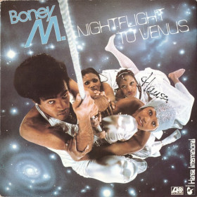 Boney M. ‎– Nightflight To Venus  LP