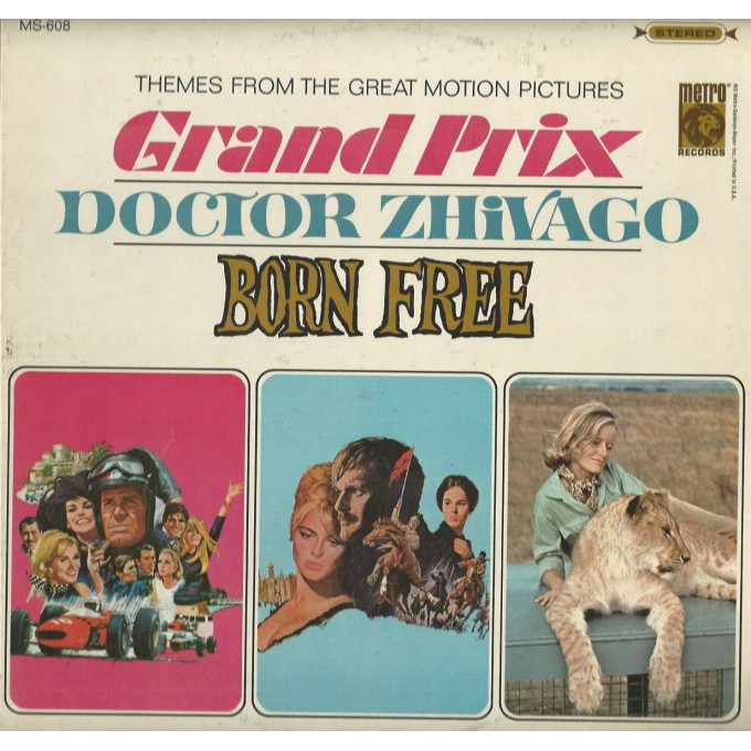 Various - Themes From The Great Motion Pictures Grand Prix / Doctor Zhivago / Born Free