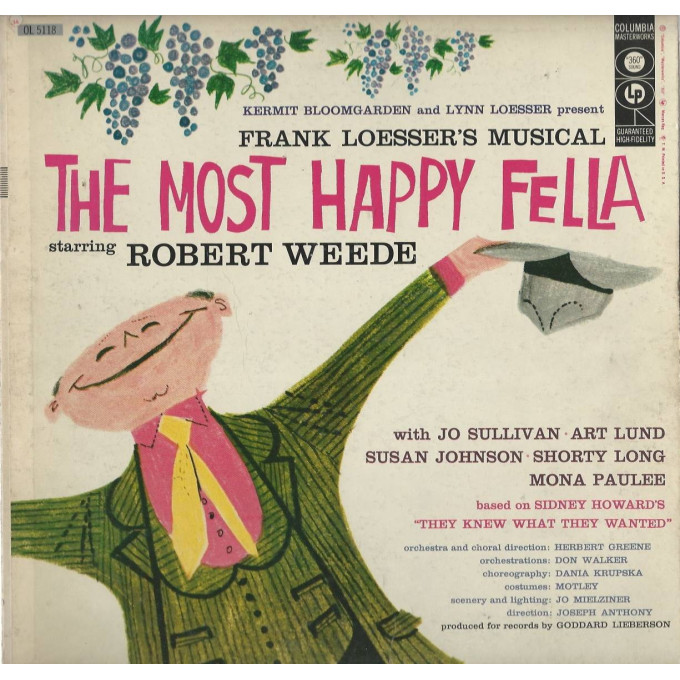 Frank Loesser – The Most Happy Fella!