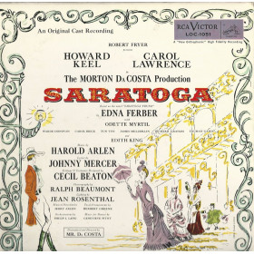 Harold Arlen, Johnny Mercer – Saratoga