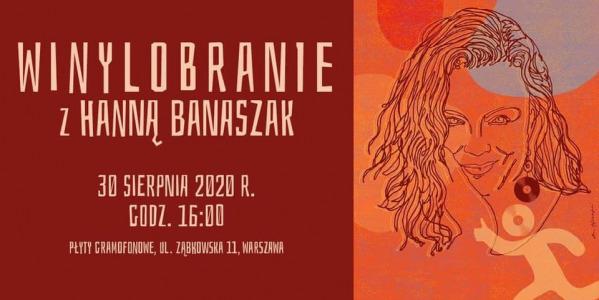 Spotkanie z Hanną Banaszak w ramach Winylobranie 17